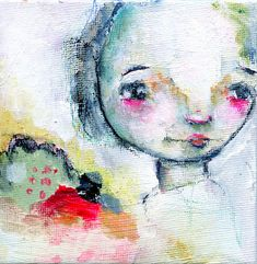 Cherish original 4x4 by Mindy Lacefield by timssally on Etsy, $40.00