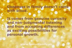 News on the Fusion Family Blog.  The point is that you are triggered by something. Instead of responding to the outside, look at the situation as a catalyst for personal growth. Choose to see the situation as a mirror that shows an imbalance or a part of yourself, that now has the opportunity to get integrated or balanced.#thefusionfamily #blended #familylife