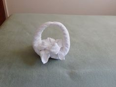 Towel Flower Basket, original design that you had never seen on youtube. - YouTube