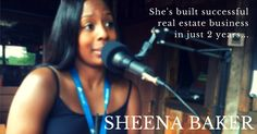 Interview with real estate agent Sheena Baker