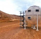 Spherical Ekinoid Shelter is a Self-Sufficient, Disaster-Proof Prefab Home