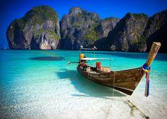 Phi Phi leh Island (The Beach, movie shooting location) - Thailand