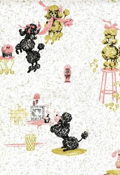 I cannot wait to wallpaper things in our new house. This awesome blog has all kinds of great wallpaper info and resources.