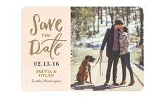 save the date magnet forever laced wedding paper divas -- Save the Date! The Beautiful Art of Announcing Your Upcoming Wedding