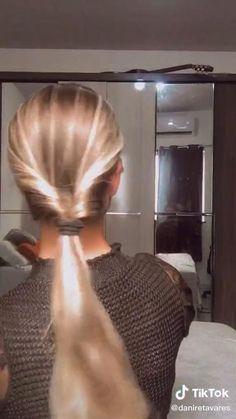 Hair Up Styles, Medium Hair Styles, Easy Hairstyles For Long Hair, Pretty Hairstyles, Hair Style Vedio, Aesthetic Hair, Hair Videos, Hair Looks, Hair Inspiration