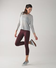 These yoga crops are engineered with zoned compression to keep you feeling held-in and supported in all the right places.