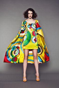 Sonia Delaunay, une composition chromatique Prêt-à-porter | Clichés