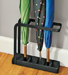 Slimline Umbrella Stand – Keep your floors dry and the umbrellas upright ( read more and see where you can buy - http://upgrade.ly/?p=1473 )