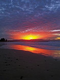Byron Bay sunset...night dive to follow!