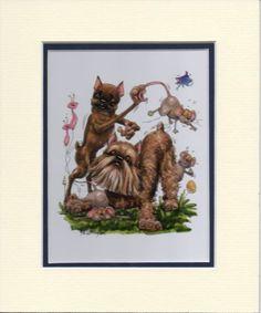 Bruxellois-Griffon-Mini-Print-by-Mike-McCartney