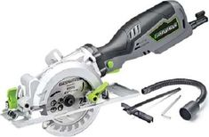 Genesis GCS545C 5.8 Amp 120 Volt 4-1/2 in. Control Grip Compact Circular Saw Mini Circular Saw, Circular Saw For Sale, Compact Circular Saw, Circular Saw Reviews, Circular Saw Blades, Electric Saw, Mini Hands, Overland Park, Buyers Guide