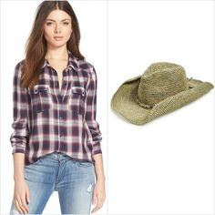 Pin for Later: You Only Need 2 Items to Make These 20 Halloween Costumes Cowgirl If you have a: plaid shirt ($169) Add a: cowboy hat ($115)