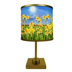 ArtLight Field of Daffodils Table Lamp - AA040DSQG