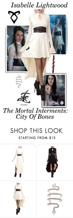 """Isabelle Lightwood - The Mortal Instruments: City Of Bones"" by gone-girl ❤ liked on Polyvore featuring Tripp, Rune NYC, Hot Topic, ShadowHunter, CityOfBones, themortalinstruments and isabellelightwood"