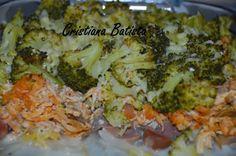 As Delícias das Guerreiras: Gratinado de Brócolos com Cogumelos e Salsichas