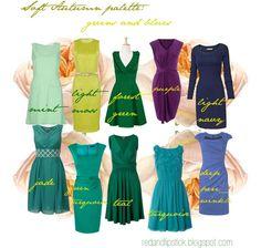 Soft Autumn palette: Greens and blues Soft Autumn Deep, Warm Autumn, Autumn Summer, Winter, Look Fashion, Autumn Fashion, Fashion Outfits, Fall Wardrobe, Capsule Wardrobe