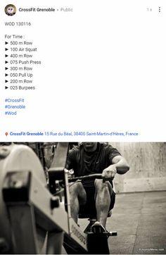 #CrossFit #CrossFitGrenoble #Wod