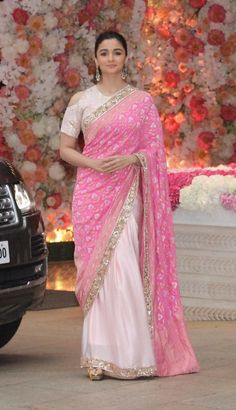 Top 20 Modern Ways Saree Draping Styles to Look Different & Beautiful Saree Draping Styles, Saree Styles, Indian Attire, Indian Outfits, Indian Designer Outfits, Designer Dresses, Designer Sarees, Alia Bhatt Saree, Short Hair