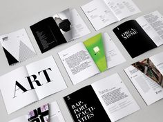 Manif d'Art |Branding | Brochure|lg2boutique