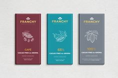 Franchy Chocolate Packaging on Behance