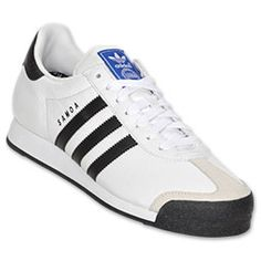 super popular 5241d 39734 Mens adidas Samoa Casual Shoes  FinishLine.com  WhiteBlack Men Casual,