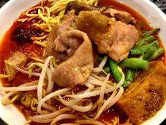Scissor Cut Noodles Chicken Curry - Scissor Cut Noodle Stall - Food Junction - Bugis Junction - Singapore