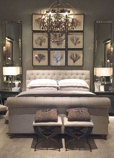 40 Luxury Small Bedroom Design And Decorating For Comfortable Sleep Ideas Small Bedroom Ideas Bedroom Comfortable Decorating Design Ideas Luxury Sleep Small Red Master Bedroom, Relaxing Master Bedroom, Woman Bedroom, Master Bedroom Design, Master Suite, Bedroom Decor Master For Couples, Dark Gray Bedroom, Indian Bedroom, Silver Bedroom