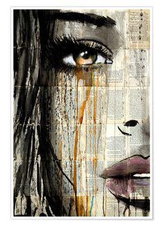 Tara-my-sweet-love — Jover . Pop Art, A Level Art, Portrait Art, Portrait Paintings, Abstract Portrait, Acrylic Paintings, Art Paintings, Oeuvre D'art, Collage Art
