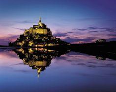モンサンミッシェル修道院についてのランキング 綺麗な景色の画像ランキング