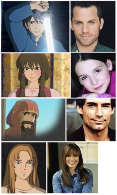 'Tales from Earthsea' characters & voice actors