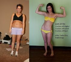 P90X, Turbo Fire and Shakeology Results