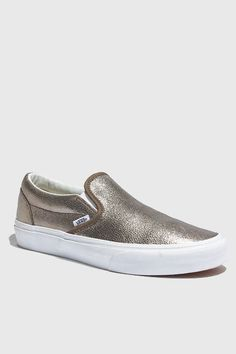 This Spring and Summer: Metallic sneakers instead of metallic sandals. Better for your arches and more daring.