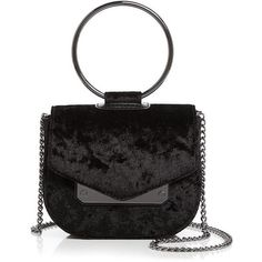Nasty Gal Ring Leader Crushed Velvet Crossbody (1.123.875 IDR) ❤ liked on Polyvore featuring bags, handbags, shoulder bags, crossbody shoulder bag, cross body, cross-body handbag, nasty gal and crossbody purse
