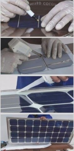By using standard 2Watt Polycrystalline cells, available on sites like eBay, you'll enable yourself to build a 100 Watt panel for around $125. Some people even opt for chipped, or B-Grade cells, that produce the same amount of power but are defective by the manufacturer's standards (ie chipped corners, etc). With this choice of solar cells a completed 100 Watt panel may cost less than $70.