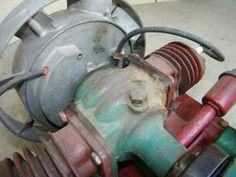 antique engine | ANTIQUE MAYTAG ENGINE MOTOR TWIN CYLINDER VINTAGE OLD
