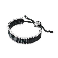 Hand-woven with Green and Black thread, these sterling silver bracelets are a modern, grown-up take on the friendship bands we made as children. 2012 Friendship Bracelet - 45 bars Green & Black $250