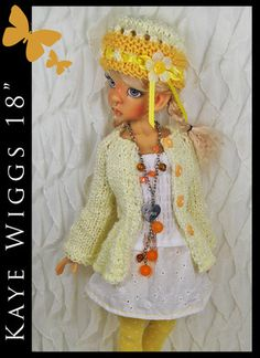 "OOAK Handmade Fashion Mix Match for Kaye Wiggs 18"" MSD by Maggie Kate Create 