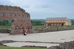 Take a look at the lives of Roman Britons in Wroxeter Roman City, in Shropshire. Turns out, it wasn't very different from the lives we lead today.