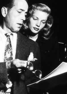 #Humphrey Bogart #Lauren Bacall