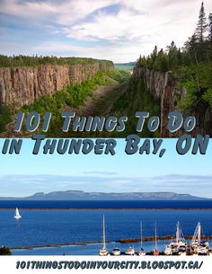 101 Things to Do.: 101 Things to do in Thunder Bay, ON Oh The Places You'll Go, Places To Travel, Places To Visit, Thunder Bay Canada, Ontario Travel, Vacation Destinations, Vacations, Vacation Ideas, Lake Superior