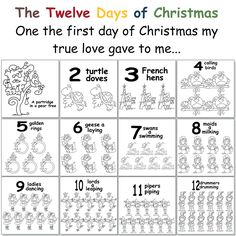 Hayley's Paper Garden: The 12 Days of Christmas!