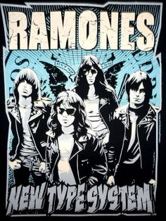 RAMONES Rock Band Music Metal T Shirt Tank Top by BestRockShirts, $12.90