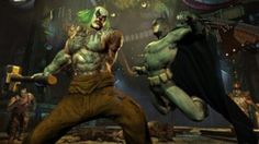 Batman and joker fighting widescreen desktop mobile iphone android hd wallpaper and desktop. Batman Arkham City, Batman Arkham Knight, Gotham City, Gotham Season 2, Warcraft Movie, Video Game Movies, Video Games, Gil Scott Heron, Joker