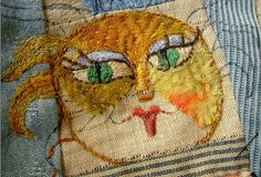 ♒ Enchanting Embroidery ♒ embroidered face by Jude Hill