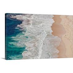 Where The Ocean Ends Canvas Print