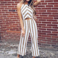 44d33132d93 Ladies Summer Fall Fashion Wide Leg Jumpsuit (Variety Styles Color)