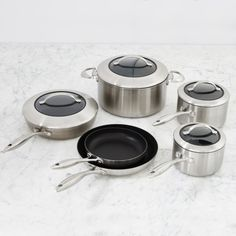Scanpan CTX Nonstick 10-Piece Cookware Set   Williams-Sonoma