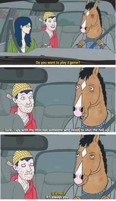 BoJack presents: Games to play with your kids on a road trip - Imgur
