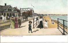 Vintage Winthrop Beach