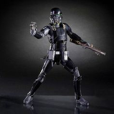 New review up on www.FLYGUY.net for Star Wars Black Series Rogue One Deathtrooper Six Inch Figure.  #starwars #hasbro #blackseries #rogueone #deathtrooper #sixinch #toys #toystagram #FLYGUY #FLYGUYtoys #googleplus